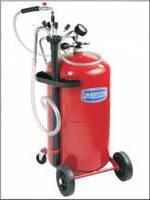 Установка вакуумного отбора масла емкостью 80л.