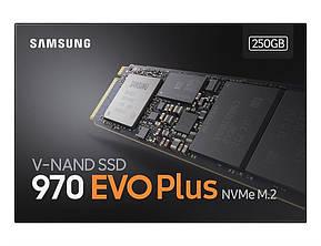 Накопитель SSD 250GB Samsung 970 EVO Plus M.2 PCIe 3.0 x4 V-NAND MLC (MZ-V7S250BW), фото 2