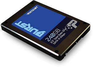 "Накопичувач SSD 240GB Patriot Burst 2.5"" SATAIII 3D TLC (PBU240GS25SSDR)"