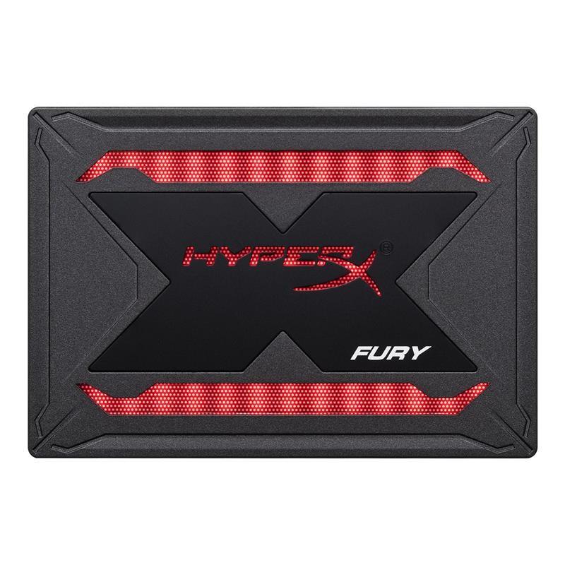 """Накопитель SSD 960GB Kingston HyperX Fury RGB 2.5"""" SATAIII 3D TLC (SHFR200/960G)"""