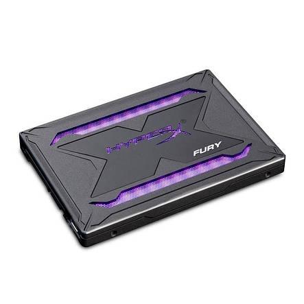 """Накопитель SSD 960GB Kingston HyperX Fury RGB 2.5"""" SATAIII 3D TLC (SHFR200/960G), фото 2"""