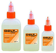Клей канцелярский 200 мл Delta D7223