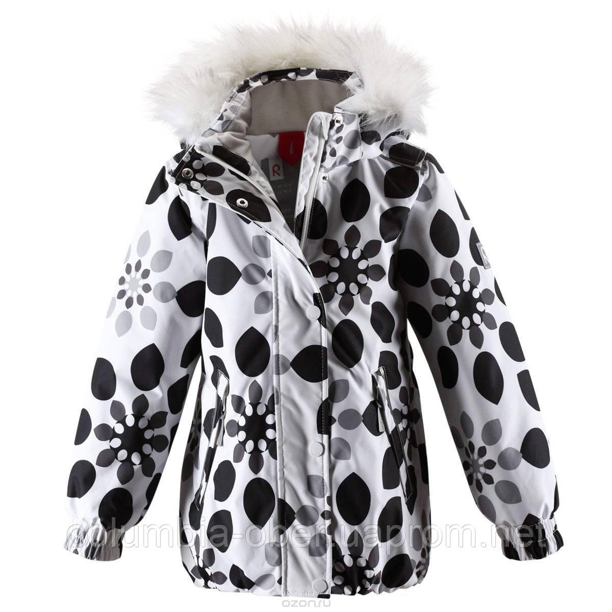 Зимняя куртка для девочек ReimaTec Zaniah 521361 - 0101.