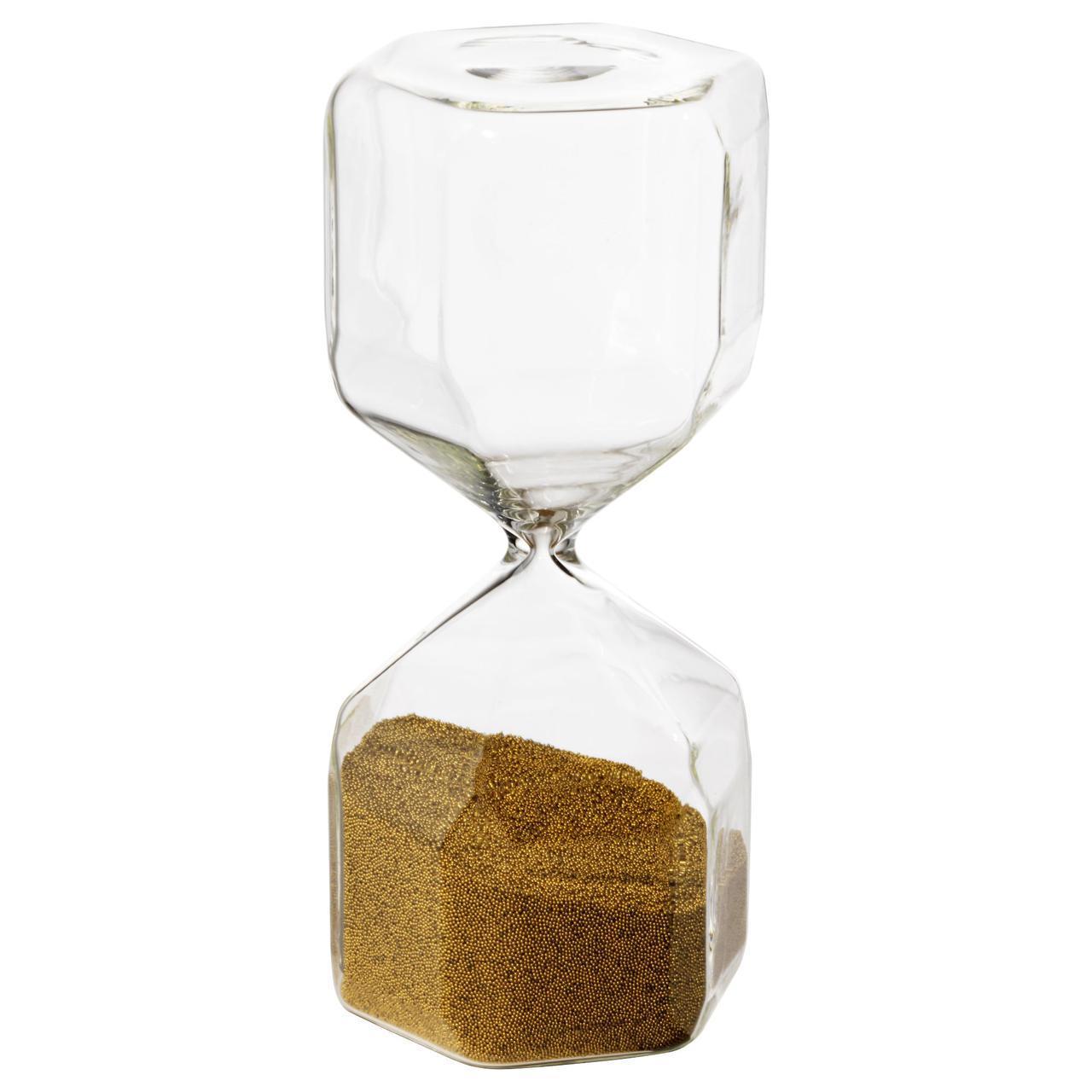 ✅ IKEA TILLSYN (603.486.20) Песочные часы декоративные, бесцветное стекло