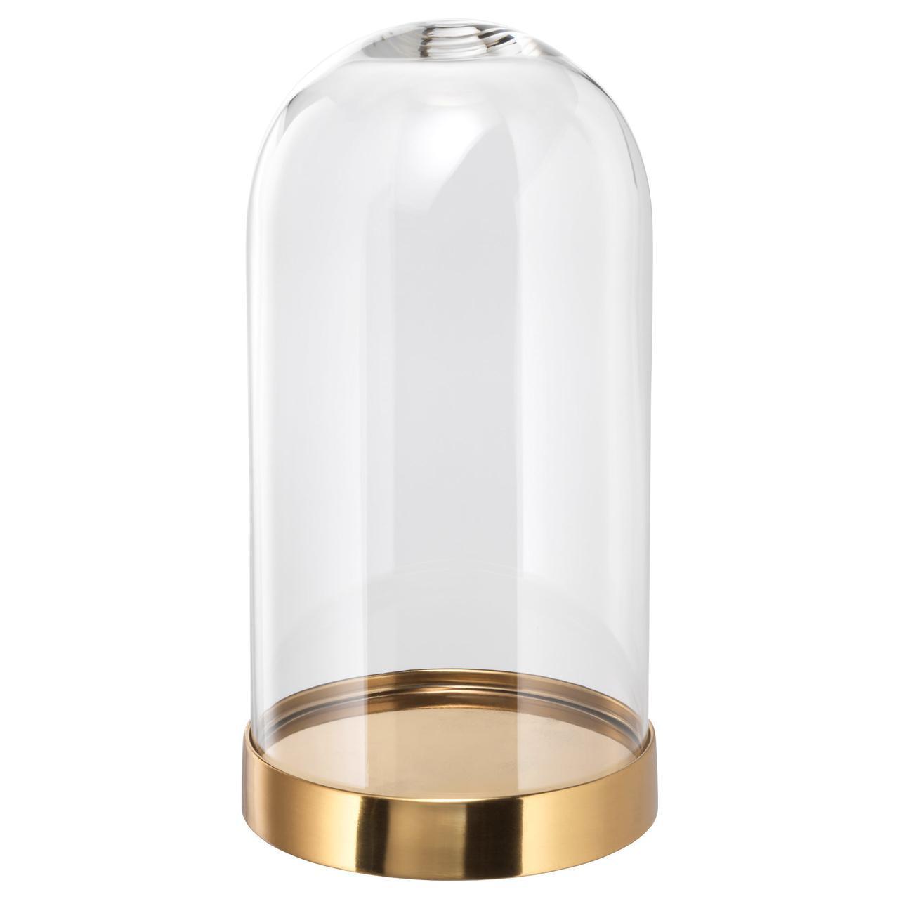 ✅ IKEA BEGAVNING (703.439.38) Стеклянный купол с основанием