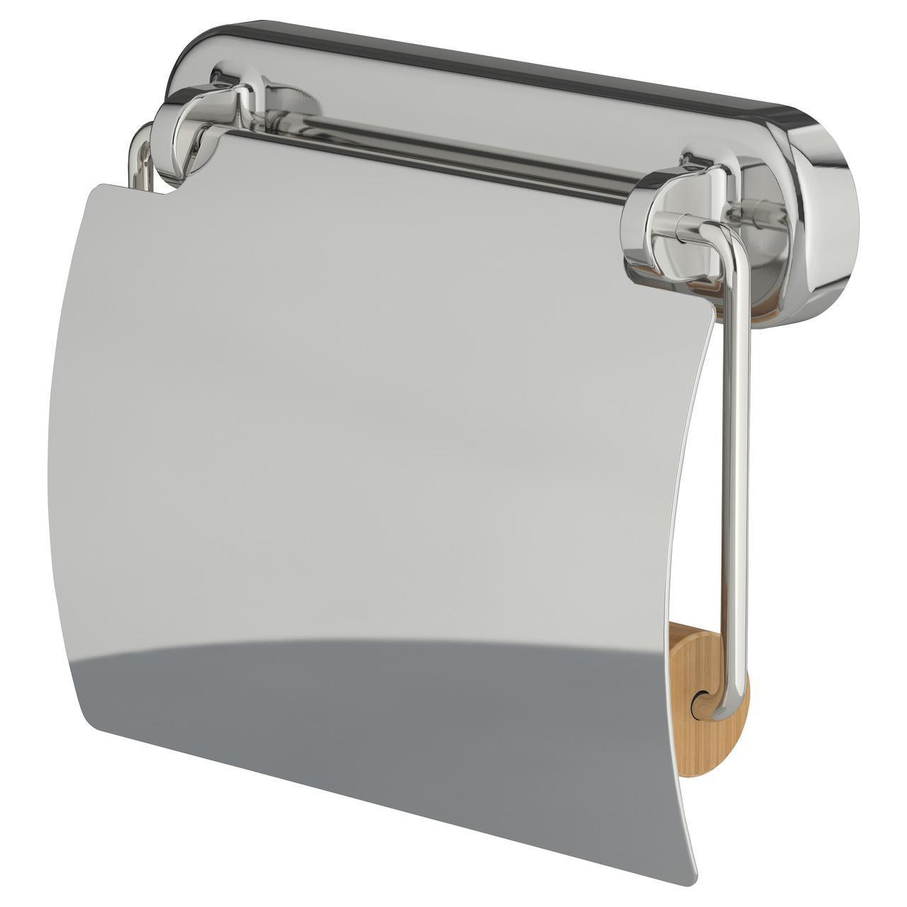 ✅ IKEA VOXNAN (403.285.95) Держатель туалетной бумаги, хром-эффект