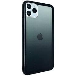 Чехол-накладка DK Silicone Form Gradient для Apple iPhone 11 Pro Max (black)