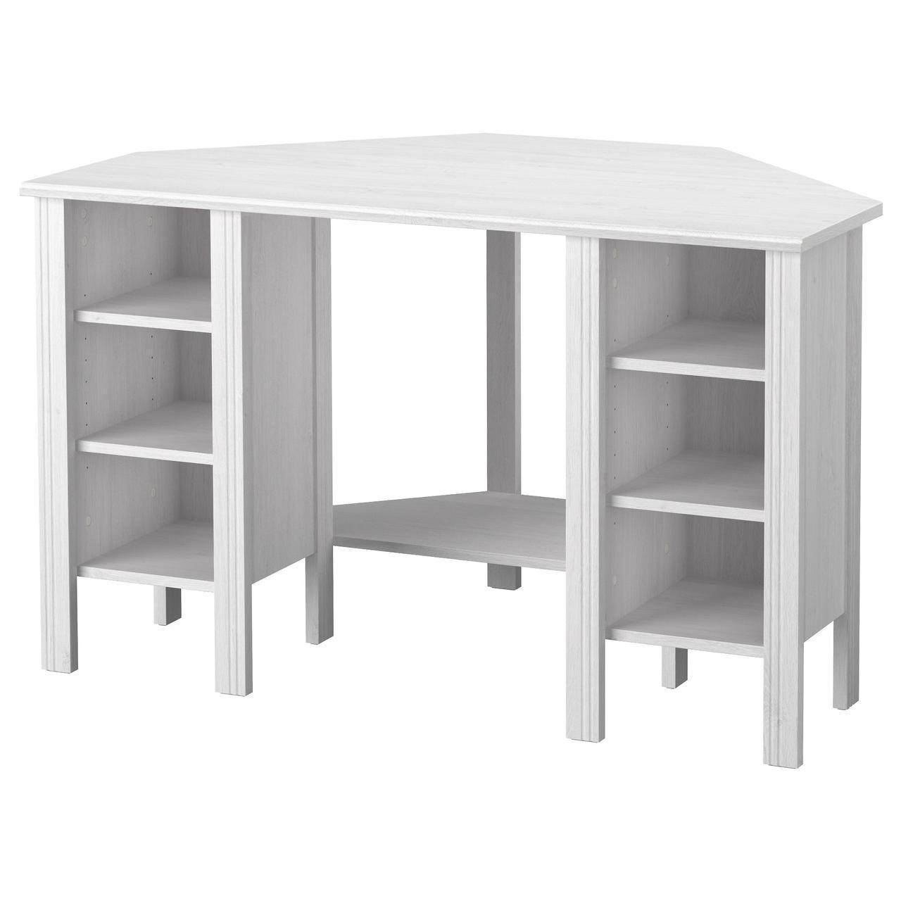✅ IKEA BRUSALI (103.049.92) Угловой Письменный стол, коричневый