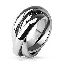 Женское кольцо из стали Trinity Spikes M-R0002, р. 15.7, 16.5, 17.3, 18, 19