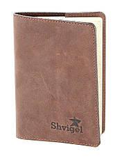 Оригинальный набор из кожаных аксессуаров SHVIGEL , Коричневый, фото 3