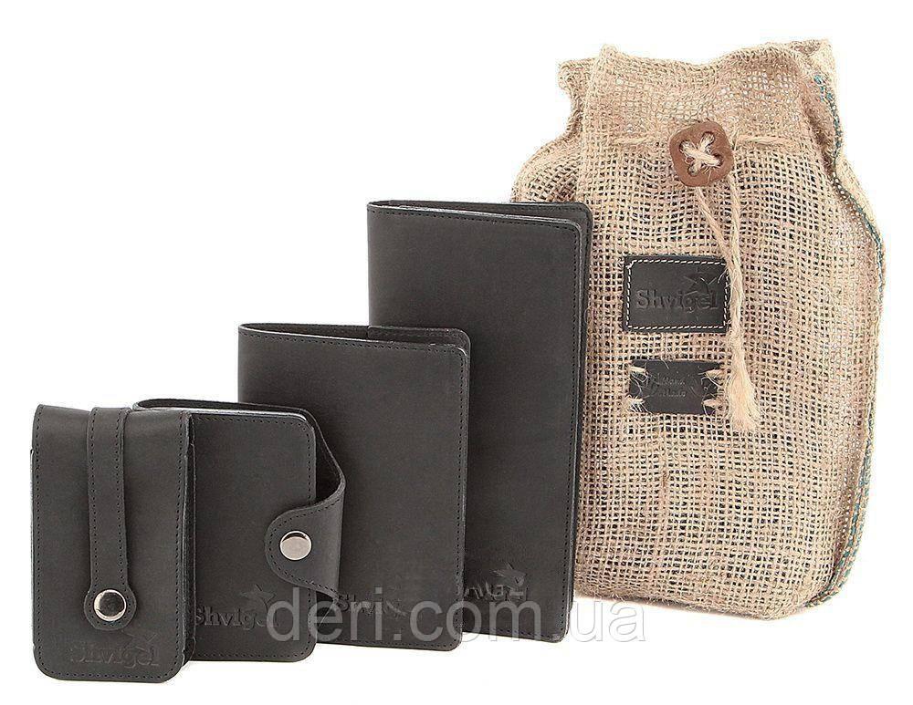 Отличный подарочный набор из кожаных аксессуаров