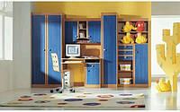 Стенка для детской комнаты «Юниор» (цветной), Мебель Чернигов, Магазин мебели в Чернигове