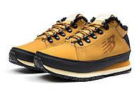 Мужские ботинки на меху New Balance 754 светло-коричневые р.41 Акция -52%!