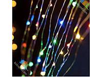 Светодиодная Гирлянда Штора Капля Новогодняя Занавеска 600 LED 3 х 3 м Цвета в Ассортименте