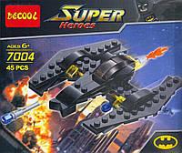 "Конструктор ""DECOOL"" серия СУПЕРГЕРОИ Batman Airplane арт.7004"