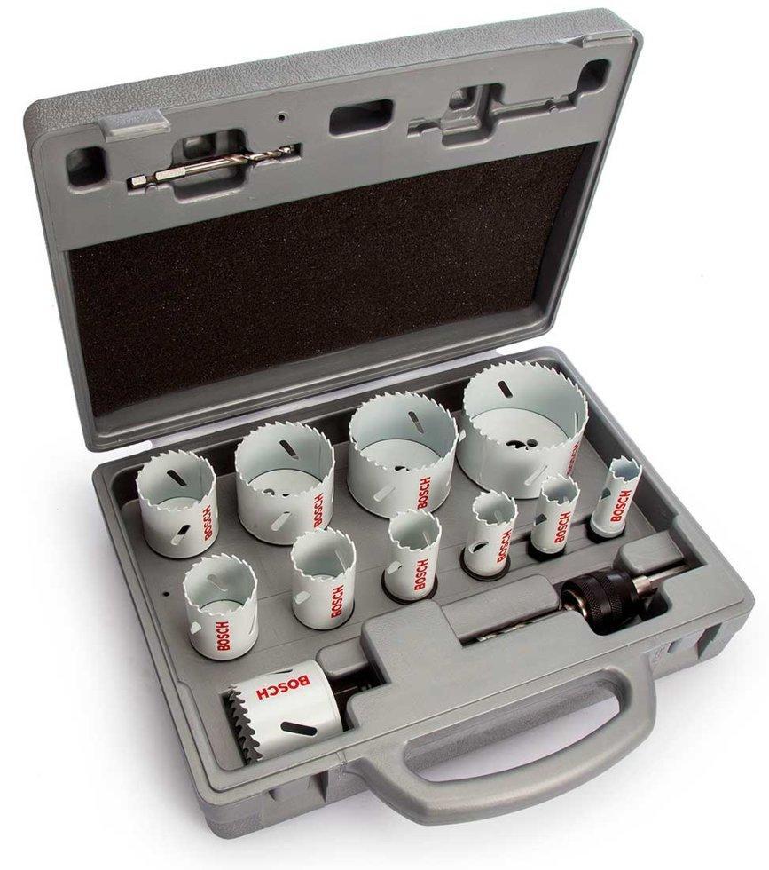 Набор коронок Bosch Progressor for Wood and Metal, 11 шт (2608584667)