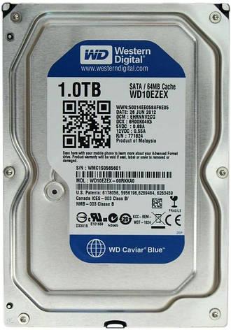 Накопитель HDD SATA 1.0TB WD Blue 7200rpm 64MB (WD10EZEX) Восстановленный, фото 2