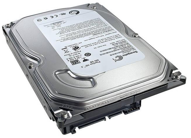 Накопитель HDD SATA 500GB Seagate 5900RPM 8MB (ST3500312CS) Восстановленный, фото 2