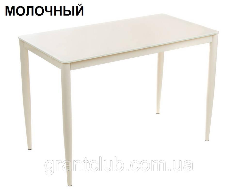 Стол обеденный T-300-11 молочный 110х60 см Vetro Mebel