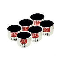 Чашка 6шт без ручек (белые) Mitsui 24-21-254