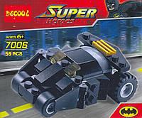 "Конструктор ""DECOOL"" серия СУПЕРГЕРОИ Batman Thumber арт.7006"