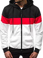 Кофта мужская с капюшоном JSTL XXL Белый LS9003R, КОД: 1079149