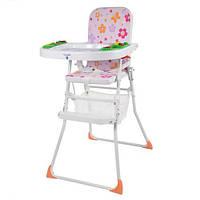 Детский стульчик для кормления Bambi М 0405-2 Розовый intМ 0405-2, КОД: 123644