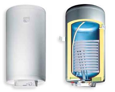 Комбинированный водонагреватель Gorenje GBK 150 RN, фото 2