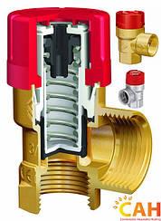 Предохранительный клапан твердотопливного котла САН 2,5 Атм
