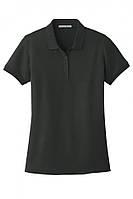 Классическая футболка поло с коротким рукавом Port Authority M Black hubnp214262, КОД: 972793