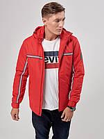 Мужская демисезонная куртка Riccardo Т2 48 Red 2rc02548, КОД: 715213