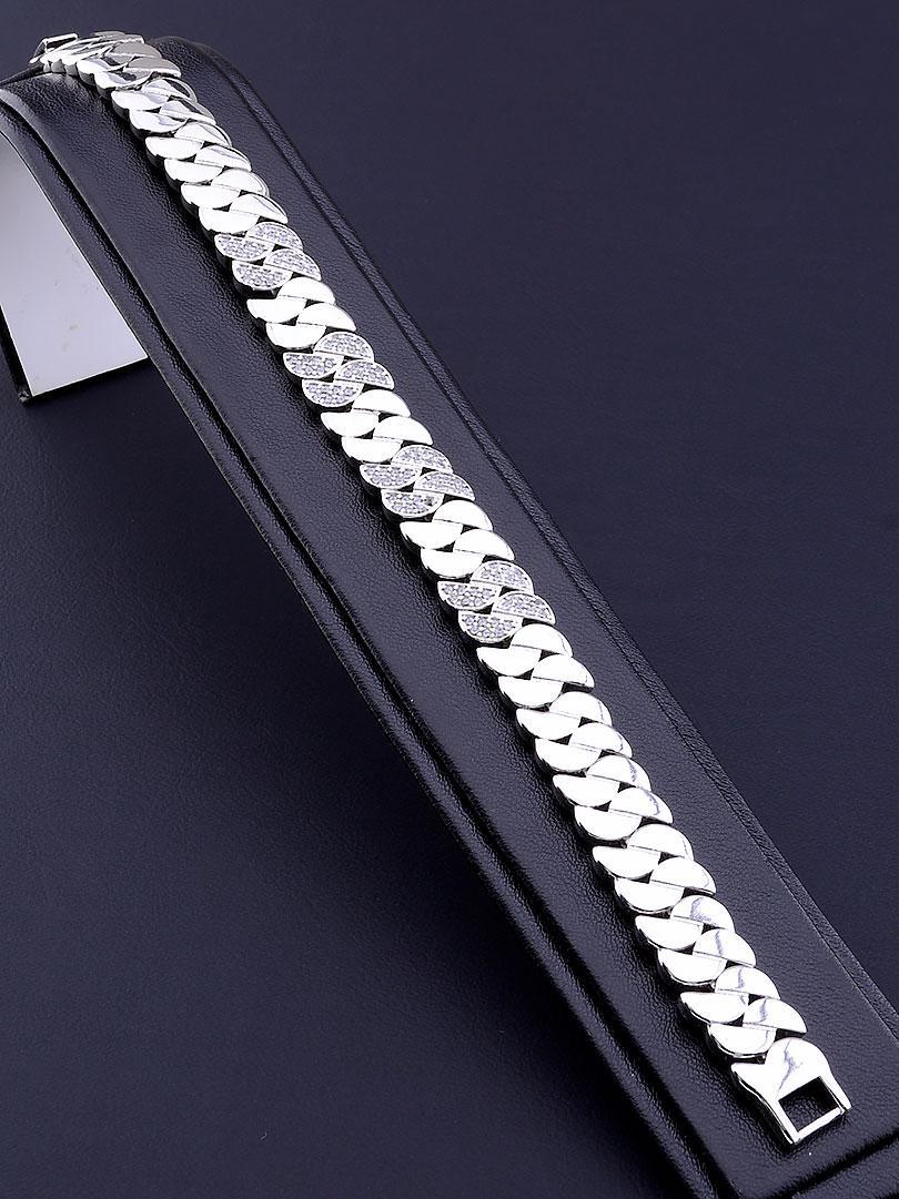 Браслет XUPING Фианит 19 см родиевое покрытие