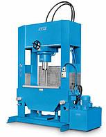 OMCN 280/W - Пресс напольный, электрогидравлический. Усилие 300 тонн