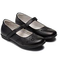Классические кожаные туфли Energi для девочек, размер 32-37