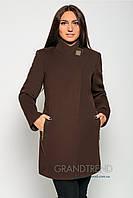Женское кашемировое пальто приталенного силуэта