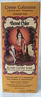 Крем-колорант Henne Color 90 мл Золотисто-медный блондин 140111-405, КОД: 1212368