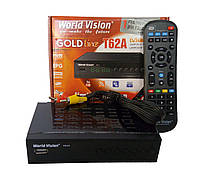 Т2 ресивер тюнер T2 World Vision T62A + обучаемый пульт + прошивка+mini WI-FI модуль