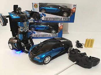 Машина трансформер1:18  DEFORMATION NO:666 радиоуправляемая игрушка с ПУЛЬТОМ!