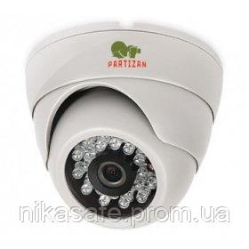 Купольная AHD Видеокамера в офис CDM-223S-IR HD 3.6