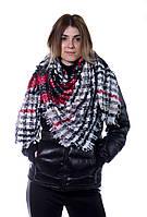 Шарф женский Bruno Rossi 135 х 130 см Комбинированный 160 red-black, КОД: 190662