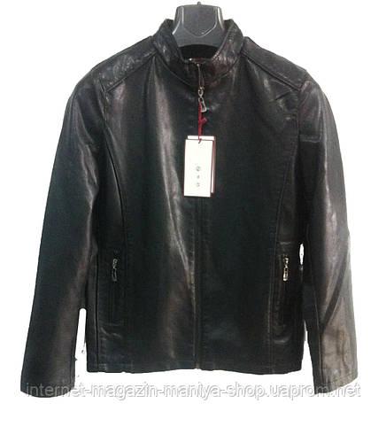 Мужская кож зам куртка
