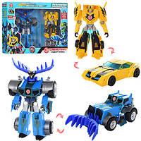 Набор трансформеров: Бамблби и Тандерхуф! Игрушка роботы трансформеры для детей!