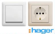 розетки и выключатели Hager купить