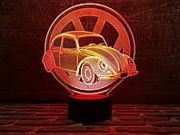Светильник 3D 3DTOYSLAMP Автомобиль 27, КОД: 385778