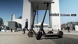 Электросамокат Ninebot KickScooter Max Black 30км/ч 350 Вт 65 км 10''