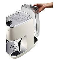 Рожковая кофеварка эспрессо Delonghi Distinta ECI 341.W 1050 Вт, фото 4