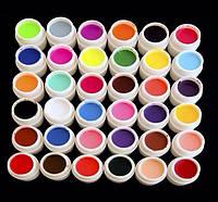 Набор цветных гелей 36 шт ( 5 мл)