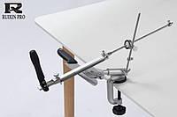 Точилка для ножей Металлическая  c  поворотный механизм RUIXIN PRO 4 аналог Apex Edge Pro  Ganzo