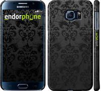 """Чехол на Samsung Galaxy S6 G920 узор черный """"1612c-80"""""""