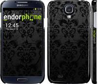 """Чехол на Samsung Galaxy S4 i9500 узор черный """"1612c-13"""""""